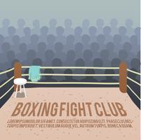 Boxning ringen bakgrund