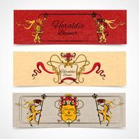 Heraldiska banners uppsättning