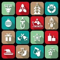 Jul ikoner ställs platt