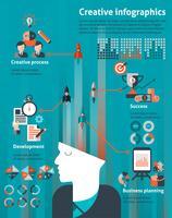 Kreativer Infographiksatz vektor
