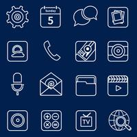 Symbole für mobile Anwendungen