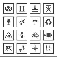 Hanterings- och förpackningssymboler