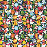 Jul sömlöst mönster