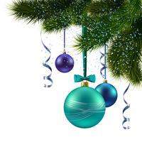 Weihnachtsbaum Zweig