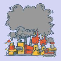 Industrielle Skizze Hintergrund