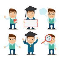 Utbildnings teckenuppsättning