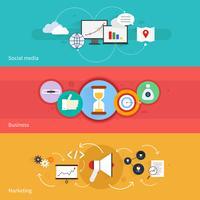 SEO Marketing Banner vektor