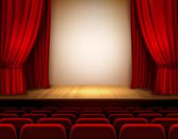 Teater scen bakgrund