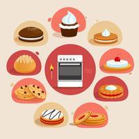 Cookies dekorativen Satz