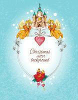Jul bakgrundsfärgad