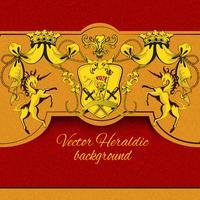 Heraldisk färgad bakgrund