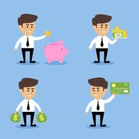 Kaufmann finanzielle Konzepte