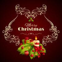 Weihnachten retro Hintergrund