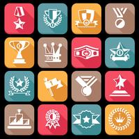 Award Icon Set vektor
