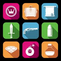 Symbole für Spielressourcen