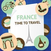Paris Hintergrundvorlage