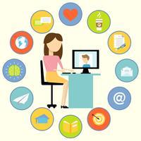 Affärskommunikationskoncept