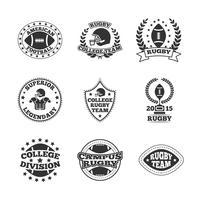 Baseball etiketter ikoner vektor