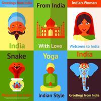 Indien minipostnad