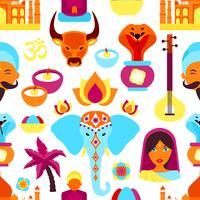 Indien nahtlose Muster
