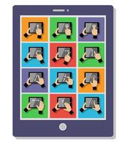 Tablet-Touch-Gesten