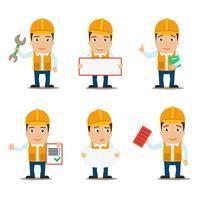 Builder teckenuppsättning