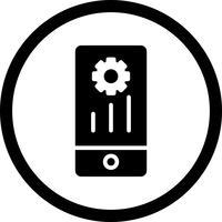 vektor mobil marknadsföringsikon