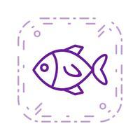 Vektor-Fisch-Symbol