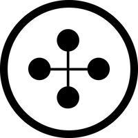 Vektor-Link-Gebäude-Symbol vektor
