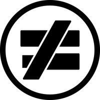 NotEqualTo-Vektor-Symbol vektor