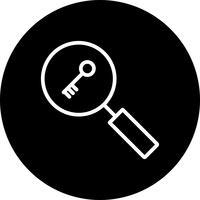 vektor sökord ikon