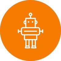 Roboter-Vektor-Symbol