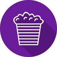 Vektor-Popcorn-Symbol vektor
