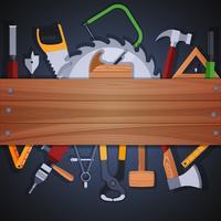 Zimmerei Werkzeuge Hintergrund