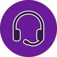 Vektor hörlurar ikon