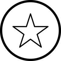 Stern-Vektor-Symbol vektor