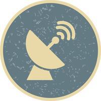Satellitenschüssel-Vektor-Symbol