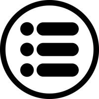 Vektor Listensymbol