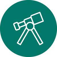 Teleskop-Vektor-Symbol