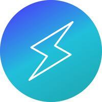 Blitz-Schaltflächensymbol