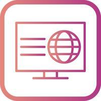 vektor webbsida ikon