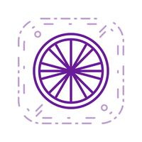 Vektor-Zitrone-Symbol