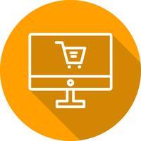 Vektor-Online-Shopping-Symbol