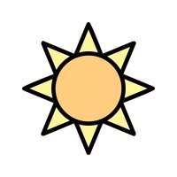 Helligkeit-Vektor-Symbol