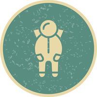 Raumanzug-Vektor-Symbol vektor