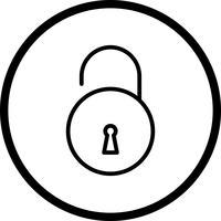 Vektor-Symbol freischalten vektor