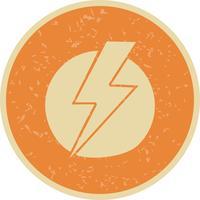 Stromschlag-Vektor-Symbol