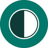 Vektor-Symbol für letztes Quartal