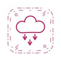 Presipitation-Vektor-Symbol