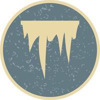 Eiszapfen-Vektor-Symbol vektor